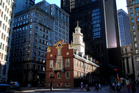 Old State House amid the skyscrapers